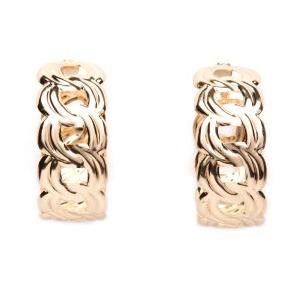 5 Chunky hoop earrings