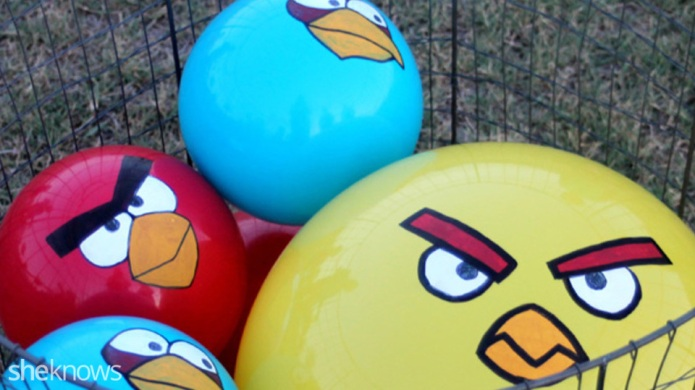 We made a life-size Angry Birds