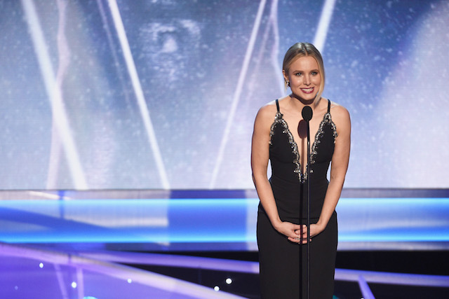 Best Winners' Speeches from the SAG Awards 2018: Kristen Bell's Opening Monologue