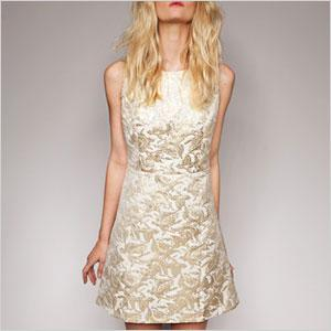Sparkly party dresses for New Year's