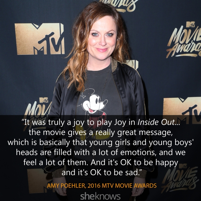 Amy Poehler quote MTV Movie Awards