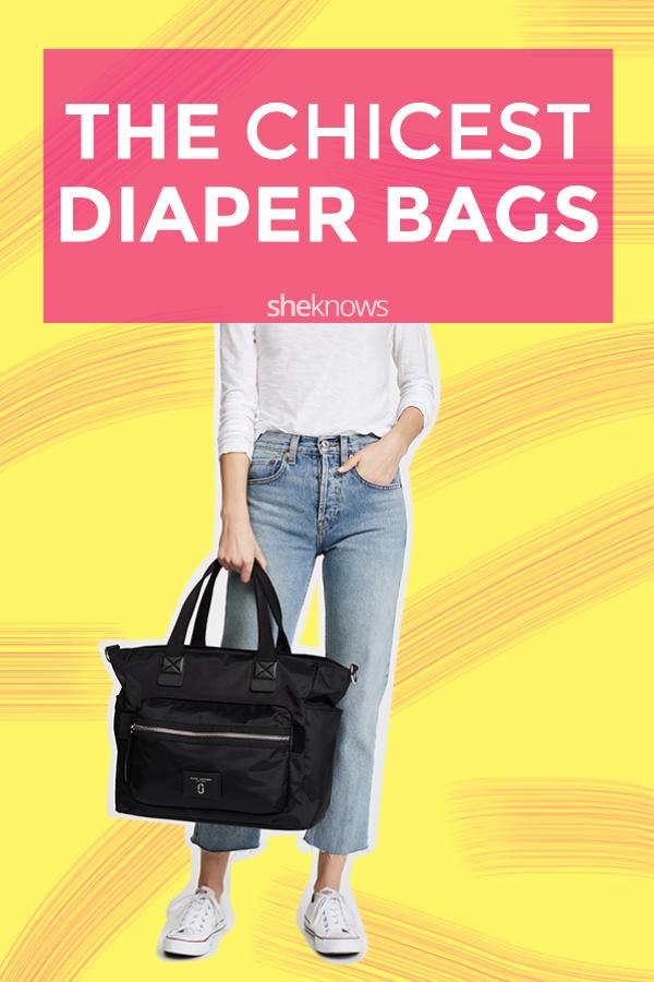 e87c2861cbf0 The Chicest Diaper Bags in Disguise – SheKnows