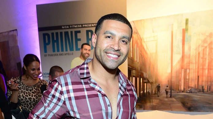 RHOA's Apollo Nida is getting some