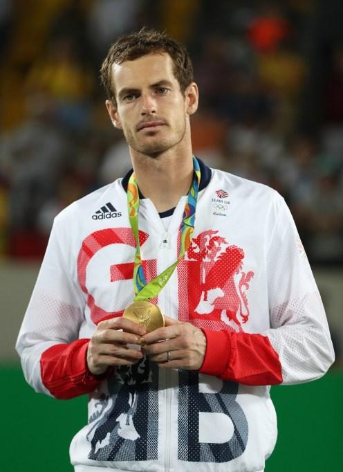 Andy Murray Olympics 2016