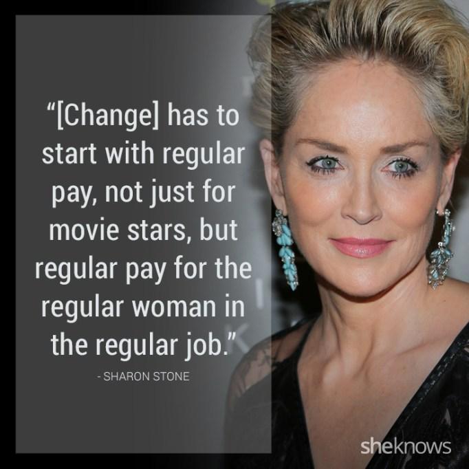 Sharon Stone quote