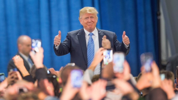 Donald Trump is winning... at being