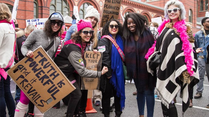 Enough with Mansplaining the Women's March,