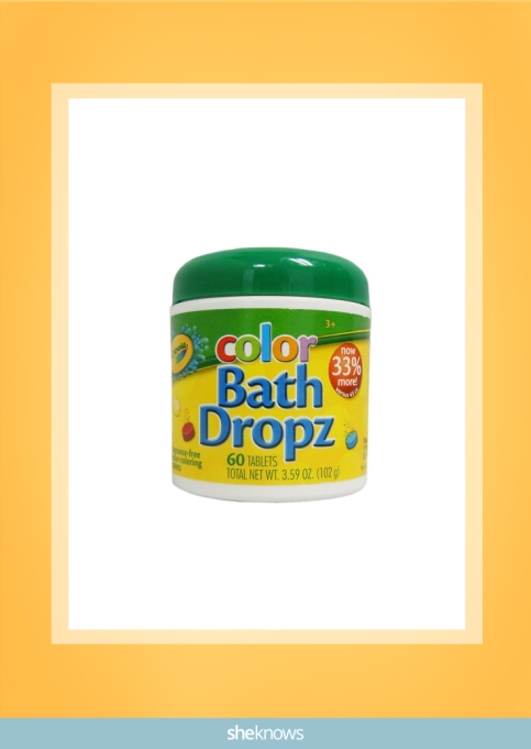 color bath dropz from Crayola