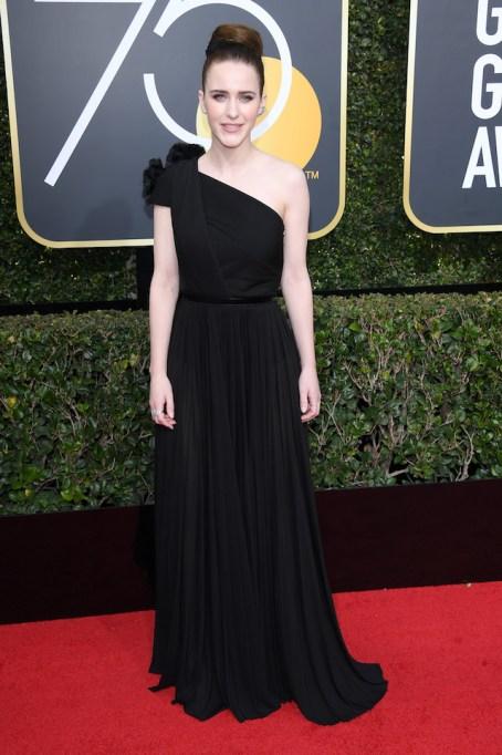 Best Golden Globes fashion 2018: Rachel Brosnahan