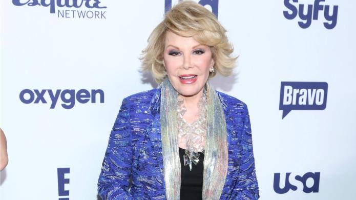 Joan Rivers comes back from the