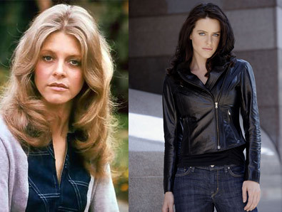 Lindsay Wagner & Michelle Ryan as
