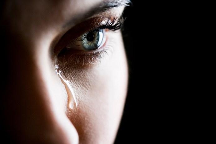 You cry 3 kinds of tears