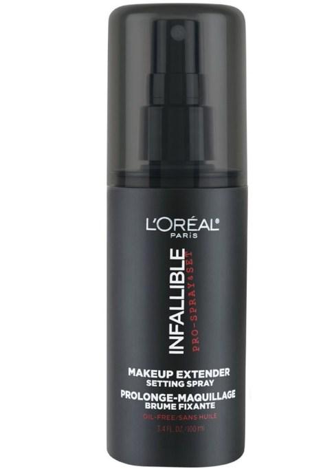 Best Setting Sprays of 2017: L'Oréal Paris Infallible Pro-Spray & Set Makeup Extender Setting Spray | Summer makeup