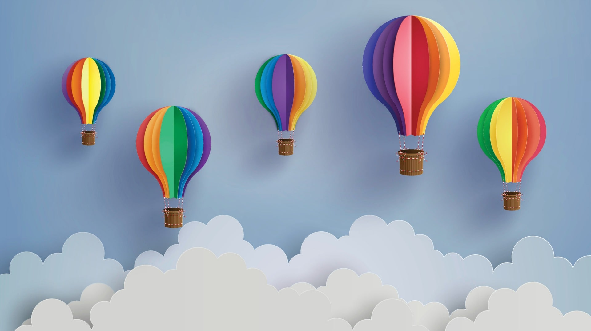 This DIY Hot Air Balloon Mobile Is Perfect for a Baby's Room