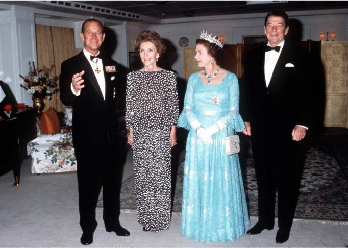 Queen Elizabeth II & Prince Philip in 1983
