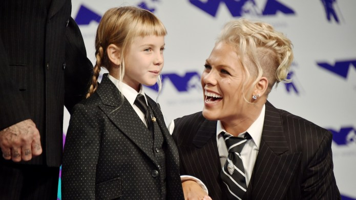 Pink Says She's Raising Her Kids
