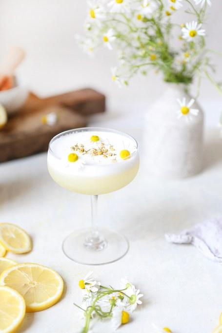Chamomile Gin Sour