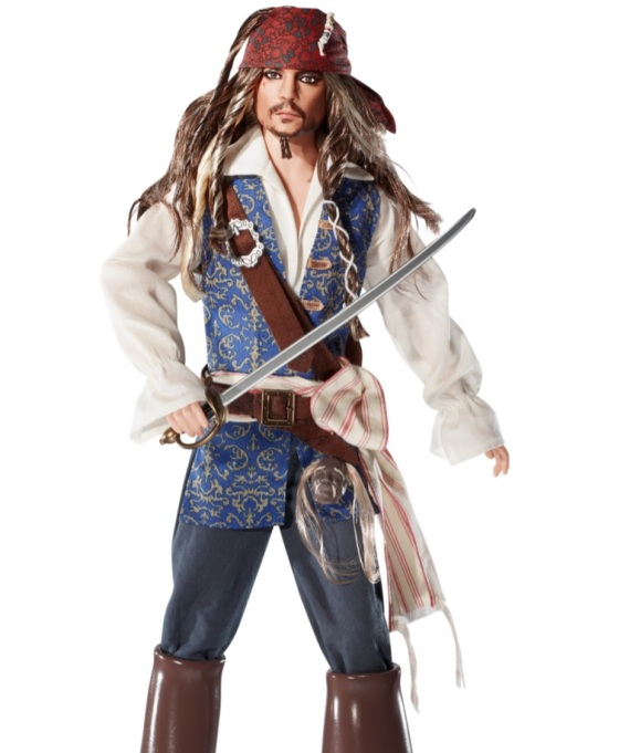 Johnny Depp Jack Sparrow Barbie