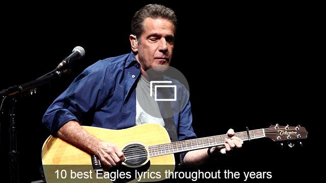 Eagles lyrics slideshow