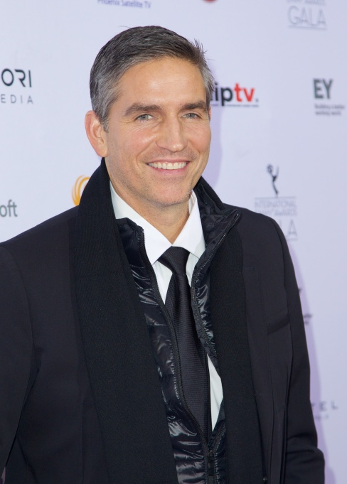 Actor Jim Caviezel on the red carpet