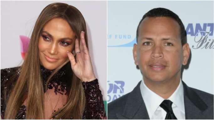 Jennifer Lopez and Alex Rodriguez's romance begins