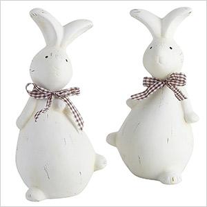easter bunnies decor
