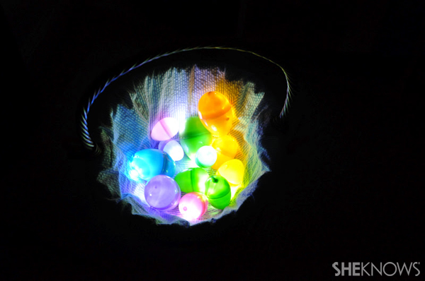 Easter glow eggs
