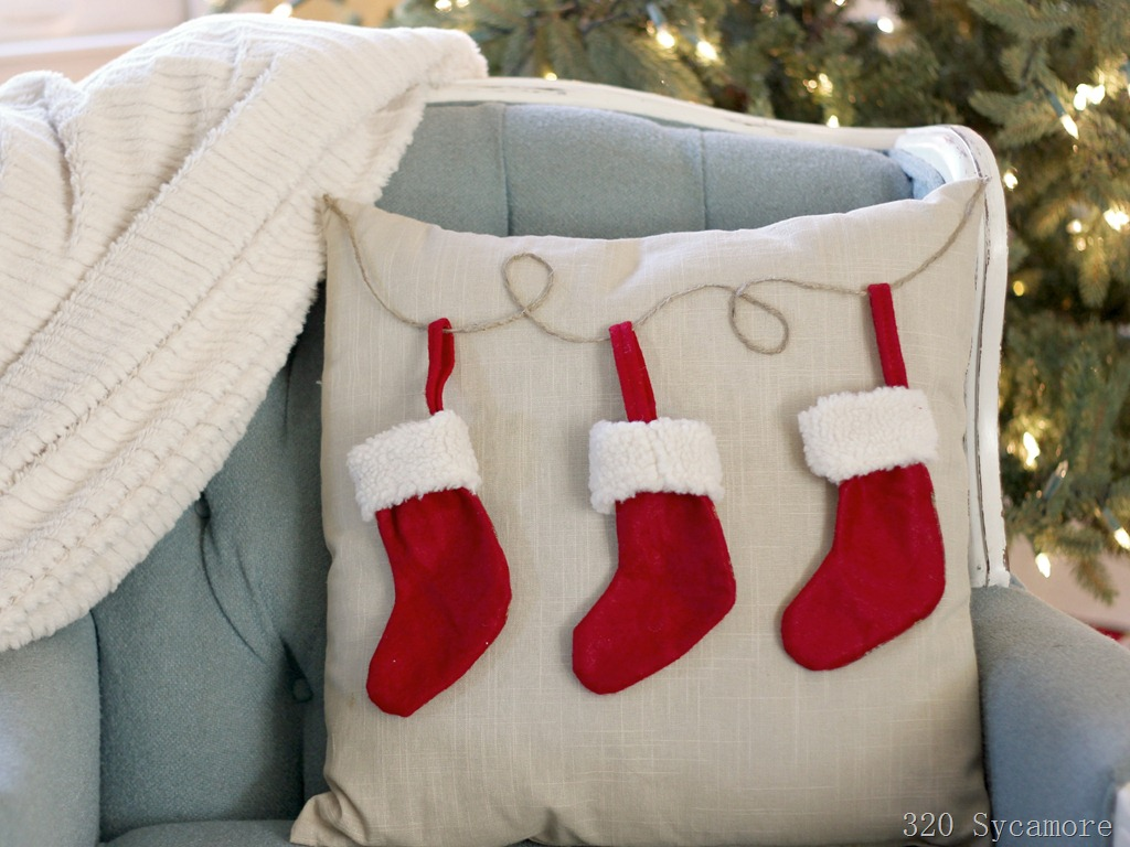 Stocking pillow