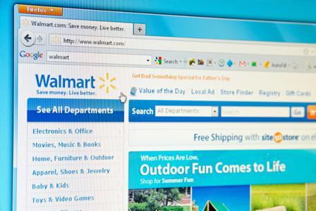Walmart online Christmas sale