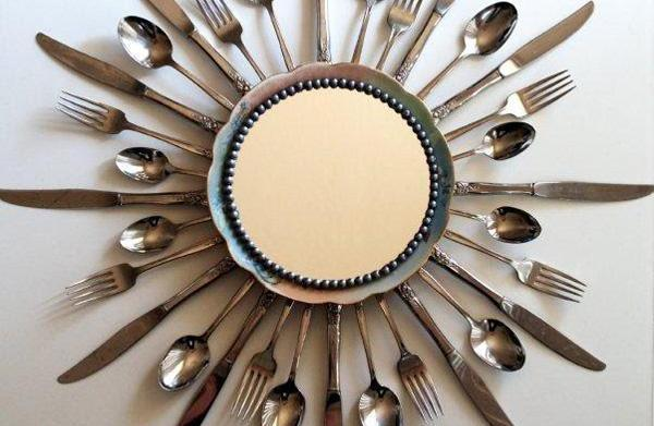 5 uses for old flatware in