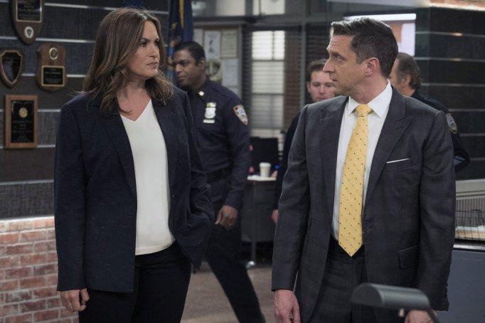 Mariska Hargitay and Raúl Esparza in 'Law & Order: Special Victims Unit'