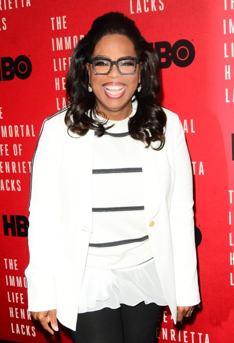 15 Celebrities who Overcame Poverty: Oprah