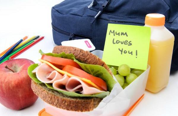 Fun ways to leave a lunchbox