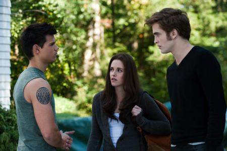 Taylor Lautner, Kristen Stewart and Robert Pattinson