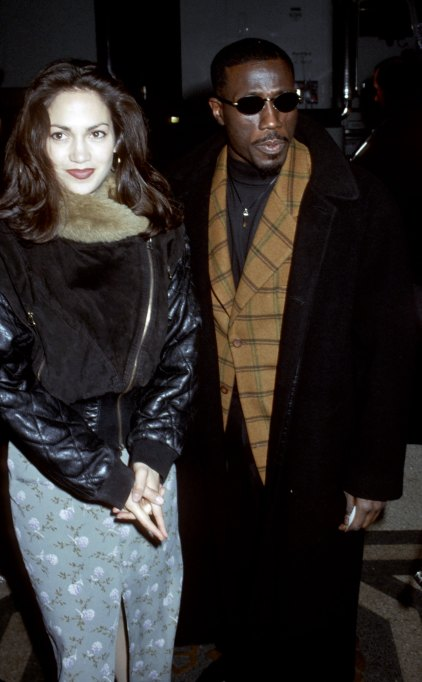 Jennifer Lopez and Wesley Snipes