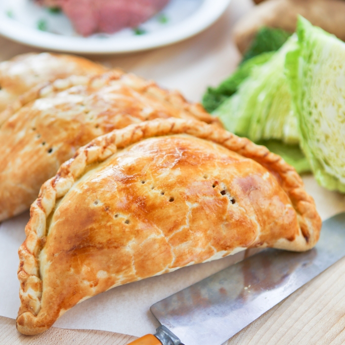corned beef and cabbage pasties recipe