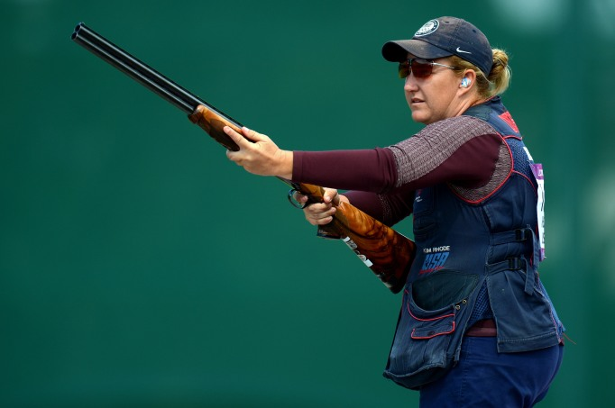 14 Incredible Olympic Athletes Who Competed While Pregnant: Kim Rhode