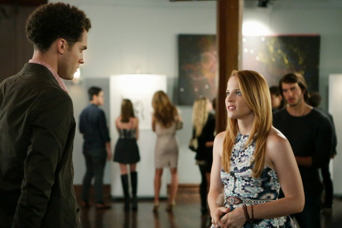 Daphne and Mingo on Switched at Birth