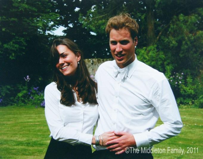 Prince William and Kate Middleton graduation photo