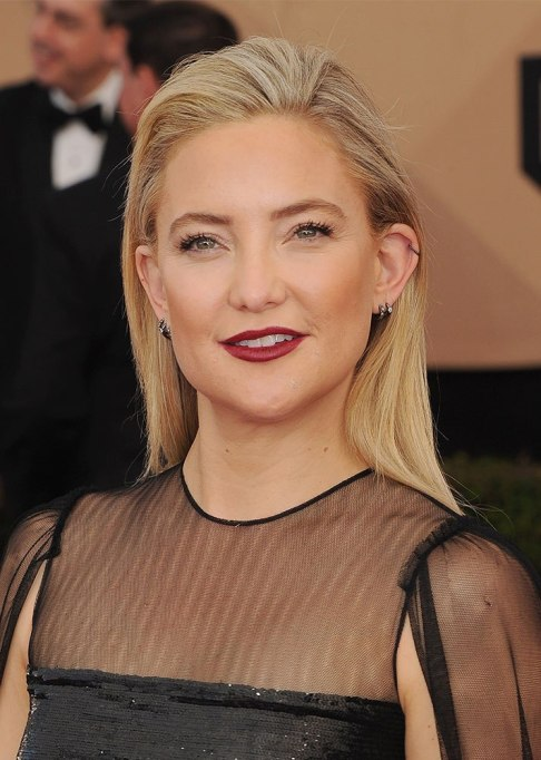 Best Celebrity Hair Transformations of 2017: Kate Hudson's signature blonde hair