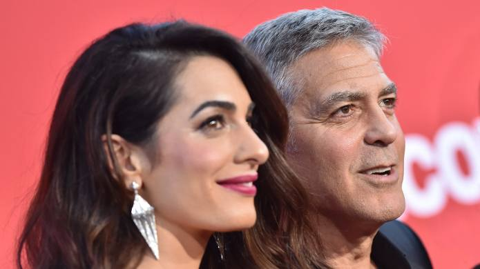 How George & Amal Clooney —
