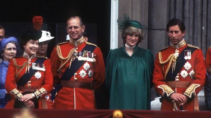 Queen Elizabeth II & Prince in 1982