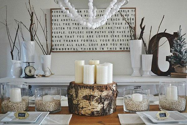8 Winter centerpieces for your table