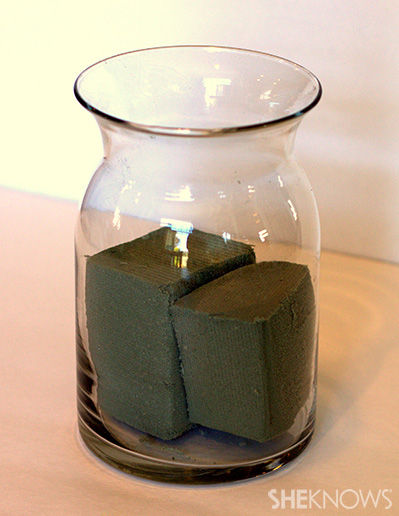Step 4 prepare vase