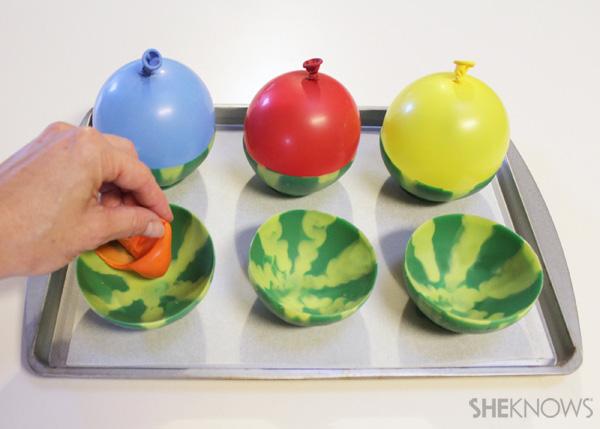 Edible watermelon bowls with sorbet | SheKnows.com