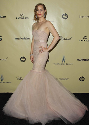 Amy Adam at the 203 Golden Globes