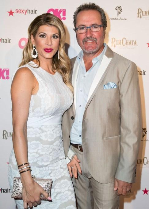 Alexis and Jim Bellino attend OK! Magazine's 'So Sexy' LA event