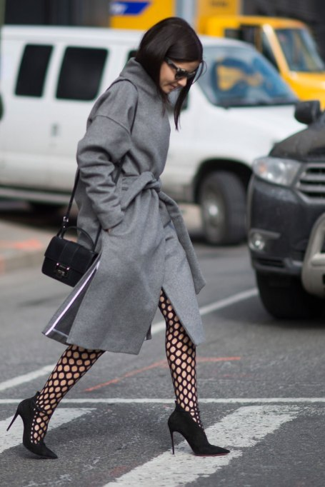 Trendy ways to wear tights | Netted up