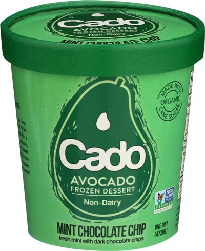 Pint of Cado avocado ice cream