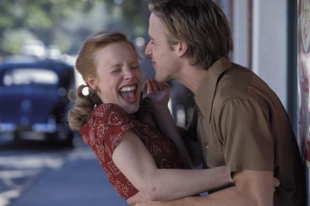 Rachel McAdams and Ryan Gosling the notebook